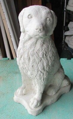 Concrete Golden Retriever  Statue,memorial, Pet Grave Marker