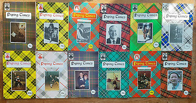 """Magazine """"Piping Times"""" by College of Piping - year 1989 - bagpipes, Dudelsack"""