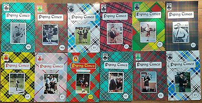 """Magazine """"Piping Times"""" by College of Piping - year 1991 - bagpipes, Dudelsack"""