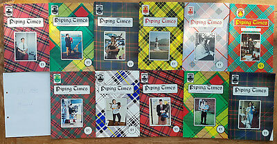 """Magazine """"Piping Times"""" by College of Piping - year 1992 - bagpipes, Dudelsack"""