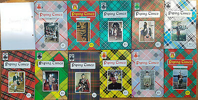 """Magazine """"Piping Times"""" by College of Piping - year 1993 - bagpipes, Dudelsack"""