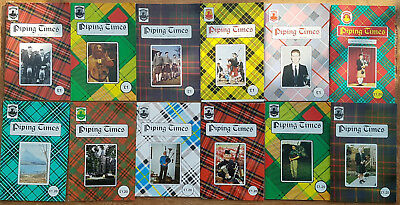 """Magazine """"Piping Times"""" by College of Piping - year 1995 - bagpipes, Dudelsack"""