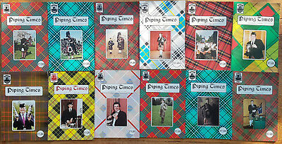 """Magazine """"Piping Times"""" by College of Piping - year 1997 - bagpipes, Dudelsack"""