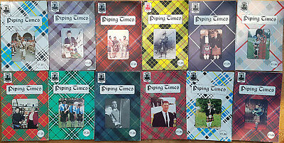 """Magazine """"Piping Times"""" by College of Piping - year 1998 - bagpipes, Dudelsack"""