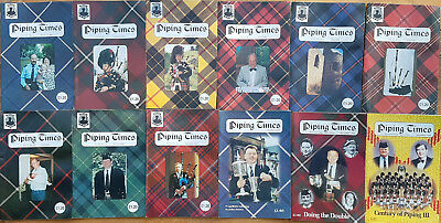 """Magazine """"Piping Times"""" by College of Piping - year 1999 - bagpipes, Dudelsack"""