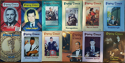 """Magazine """"Piping Times"""" by College of Piping - year 2000 - bagpipes, Dudelsack"""