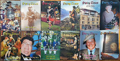 """Magazine """"Piping Times"""" by College of Piping - year 2001 - bagpipes, Dudelsack"""