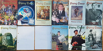 """Magazine """"Piping Times"""" by College of Piping - year 2003 - bagpipes, Dudelsack"""