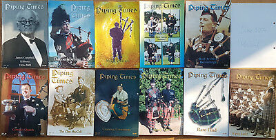"""Magazine """"Piping Times"""" by College of Piping - year 2004 - bagpipes, Dudelsack"""