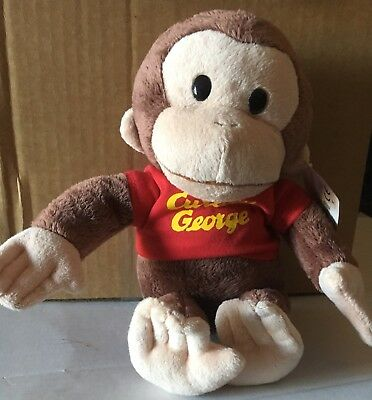 """NWT! Gund Curious George (Universal Studios) Approximately 11"""" Plush 4029019"""