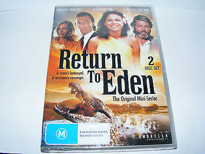Return To Eden NEW Region 4 Pal DVD - Won't play on standard UK R2 DVD player