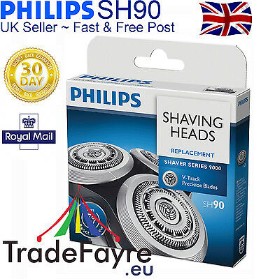 Genuine Philips SH90 Shaving Foils/cutters for series 9000 or RQ12+ replacements
