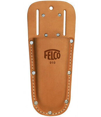 FELCO 910 Genuine Leather Holster With belt loop and clip for Felco Secateur