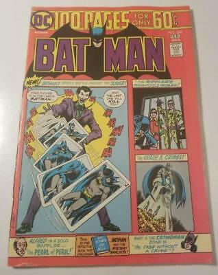 1975 Bronze Age Batman #260 Dc Key Issue! Gd/vg Joker Cover & 2Nd Arkham Asylum