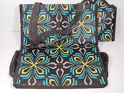 Target Classic Tote Folding Reusable Bags Grocery Bag Tote Brown Lot of 2 New