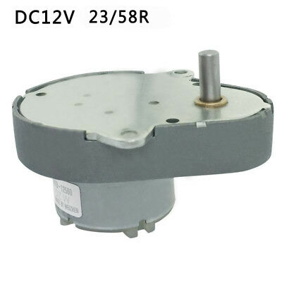 DC 12V High Turbo Worm Speed Reduction Gear Motor with Metal Gearbox GE48-500