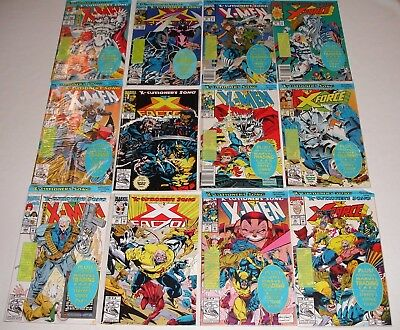 🔥🔥x-Men: X-Cutioner's Song 1-12 Set**marvel**x-Force**x-Factor**stryfe**🔥🔥