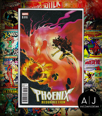 Phoenix Resurrection Return of Jean Grey #1 (Marvel) COLOR REMASTERED VARIANT!