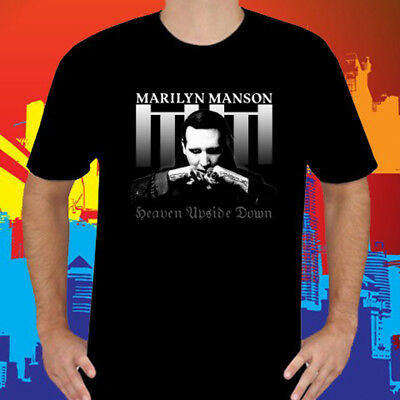 Official T Shirt MARILYN MANSON Heaven Upside Down /'Mad Monk/' All Sizes