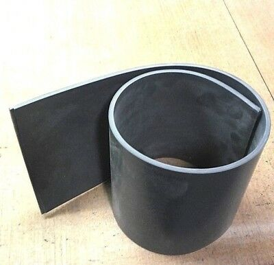 Silicone Rubber Sheet US Mil Spec 1/4'' Thk x 6'' x 12'' Strip  80D Firm Flex