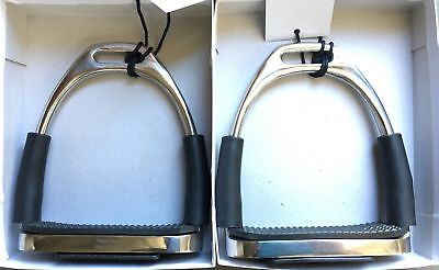 """NEW Stainless Steel Flex Comfort Stirrups 4.5"""" All Items"""