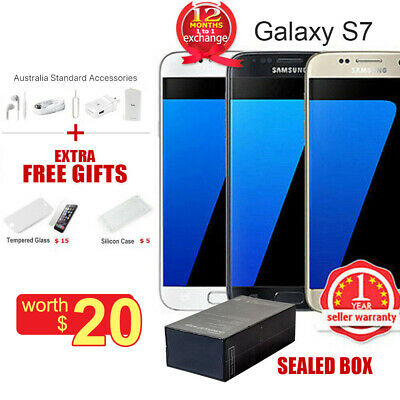 New Sealed Box Samsung Galaxy S7 G930F LTE 4G Mobile 32GB Hot Sells