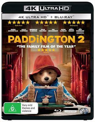 Paddington 2 | Blu-ray + UHD - Blu Ray Region B Free Shipping!