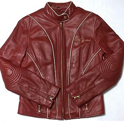 69fab8646068 OAKWOOD CLASSIC BROWN Leather Full Zip Up Half Belted Insulated ...