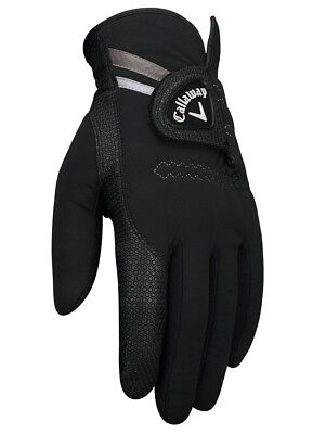 Callaway Thermal Grip Pair Of Golf Gloves Black