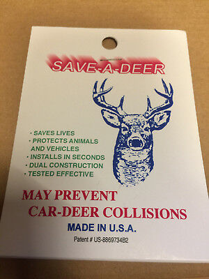 Animal alert Deer whistle New Car Safety Authentic from USA warning, Gift