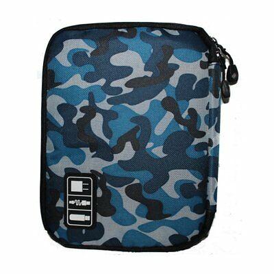 Outdoor Sports Travel Waterproof Camping USB Cables Organizer Bag Pouch