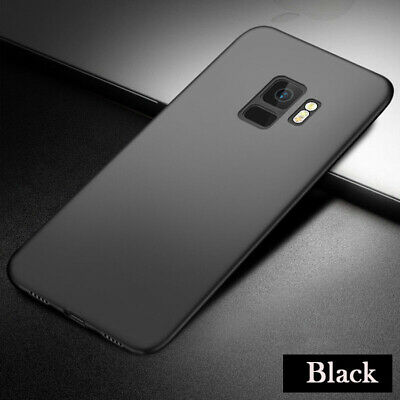Antichoc Ultra slim Coque silicone Mate TPU Protection pour Samsung S9 S9Plus