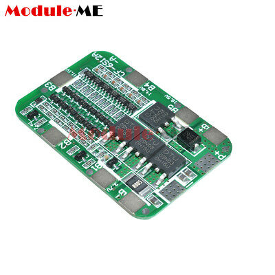 6S 15A 24V PCB BMS Protection Board For 6 Pack 18650 Li-ion Lithium Battery #K