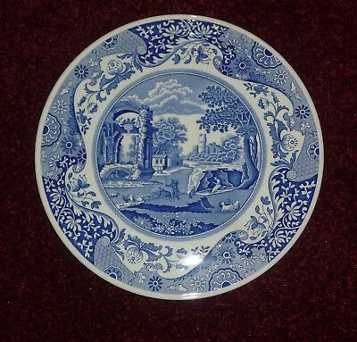 Spode Blue Italian Large 12\  Serving/cheese/cake Plate & SPODE Blue Italian Large 12\