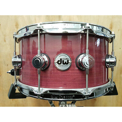 DW Collector's Purpleheart Wood Snare Drum 6.5 x 14