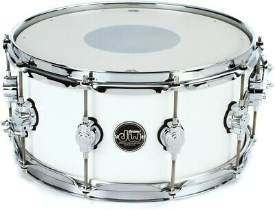 "DW Performance Series Snare Drum 6.5""x14"" White Ice"