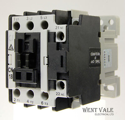 Taian CN-18 CNS AC3.1.1-0 - 32a Triple Pole Contactor With 230vac Coil Used