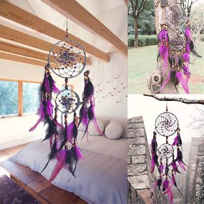 Dreamcatcher Dream Catcher w/ Feathers Car Wall Hanging Decoration Ornament