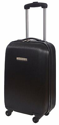 Renwick 20 Inch Hardside Lightweight Luggage Spinner Carry On Suitcase Black