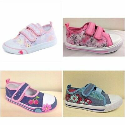New Girls Chatterbox Patterned Pumps Summer Shoes Size 4 5 6 7 8 9 10 11 12