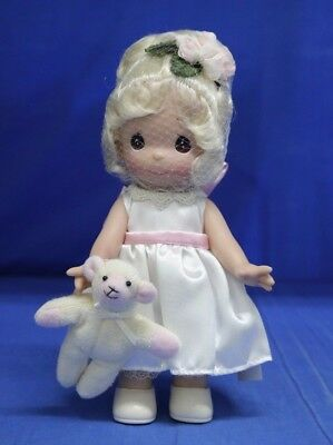 """Precious Moments Ewe So Sweet Linda Rick 9"""" Signing Event Doll #5129 Signed"""