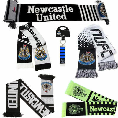 Football Team Newcastle Scarf - Supporter Soccer Club Gift Scarves