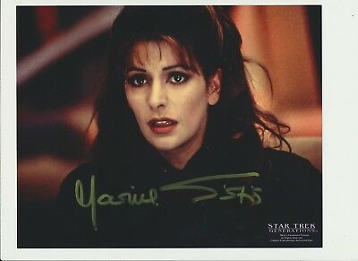 Marina Sirtis Authentic Signed Autograph Quebec Comiccon 2014 Star Trek Next Gen