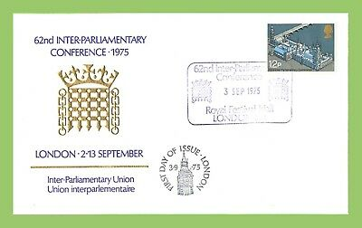 G.B. 1975 62nd Inter Parliamentry Conf. office First Day Cover, Festival Hall