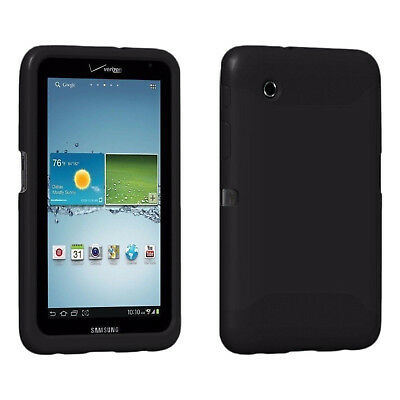 """Verizon Rugged Silicon Impact Protective Case For Samsung Galaxy Tab 2 7"""" Inch"""