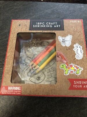 Craft Shrinking Art 18Pc