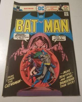 1975 Bronze Age Batman #266 Dc Key Issue! Fn/vf- Catwoman App & Cover