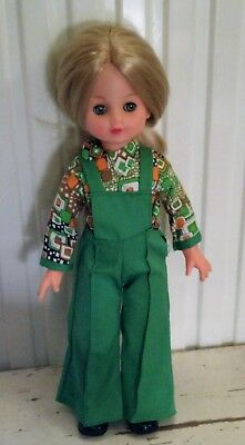 a lovely vintage doll  from the 1970's.  made in Italy