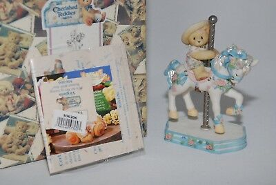 "Cherished Teddies Enesco - Virginia - ""It's So Merry Going Round With You"""