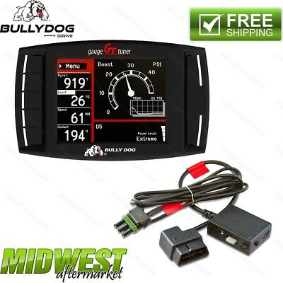 Bully Dog GT Diesel Tuner For 2013-2016 Dodge Ram 6.7L Cummins FREE Unlock Cable